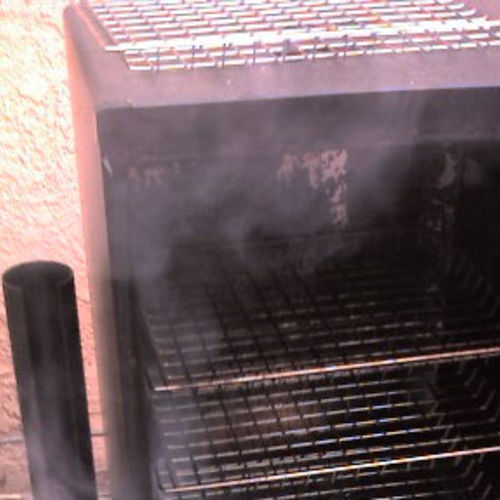 Smoking Jalapenos to Make Chipotles